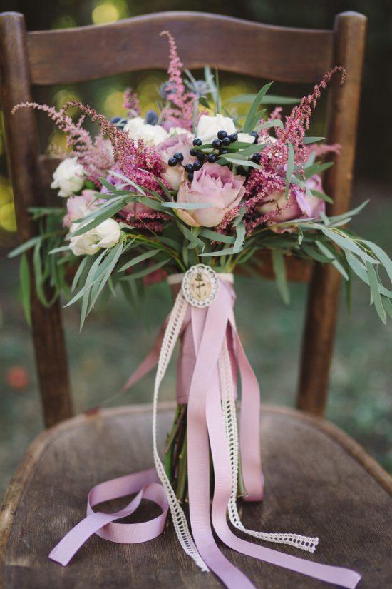 wrześniowy bukiet ślubny - zdjęcie 4