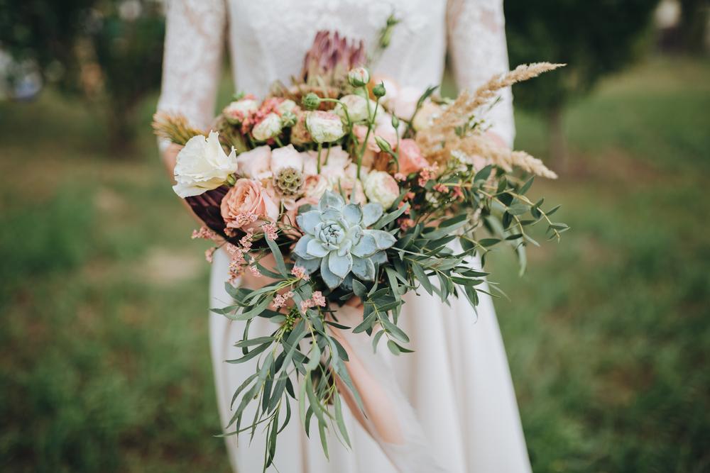 wybór bukietu ślubnego - zdjęcie 1
