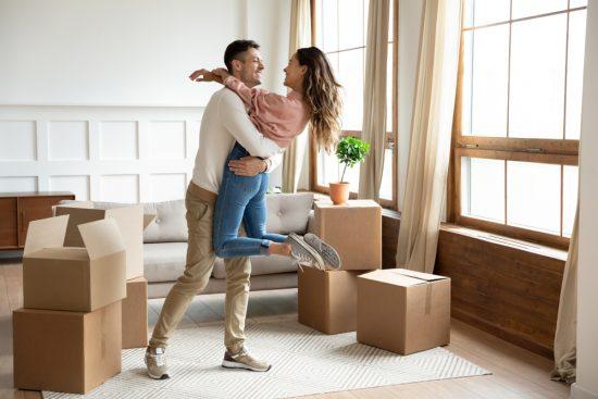 wydatki po ślubie: wspólne mieszkanie