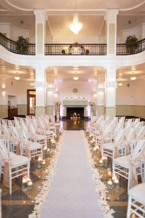 Wystrój kościoła na ślub - dywan - zdjęcie 2
