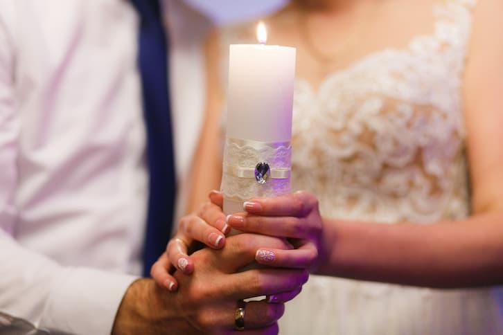 taniec ze świecami na wesele