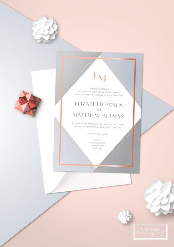 Zaproszenia ślubne 2018 4 Najgorętsze Trendy Weddingpl