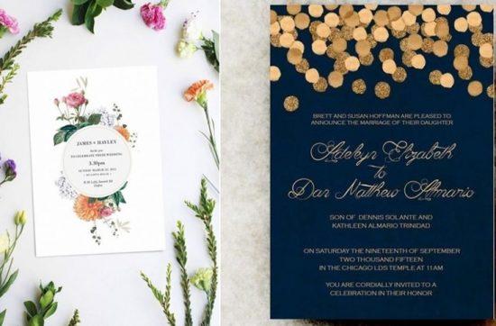 Zaproszenia ślubne 2019 - zdjęcie 31