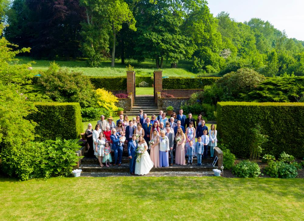 Film i zdjęcia ślubne wykonane dronem - zdjęcie 3