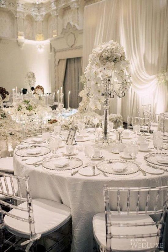 Zimowe dekoracje weselne - zdjęcie 22