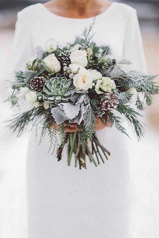 Zimowe dekoracje weselne - zdjęcie 28