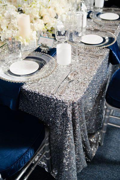Zimowe dekoracje weselne - zdjęcie 30