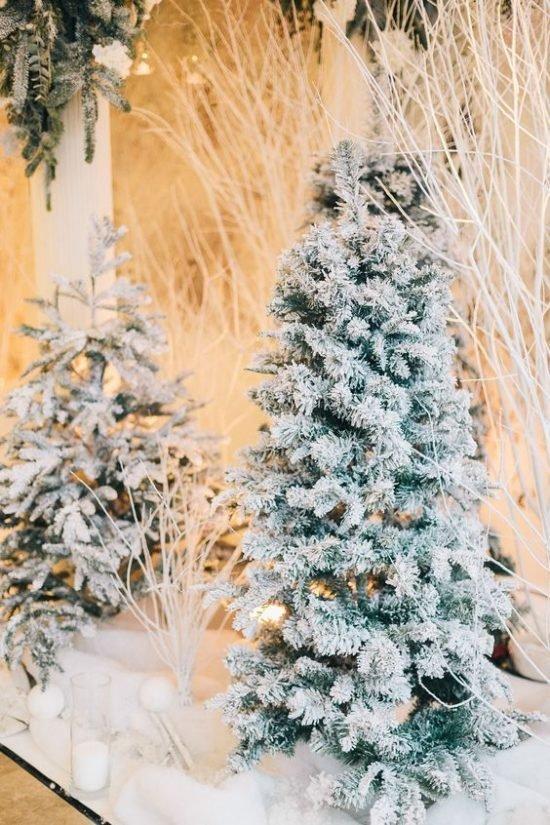 Zimowe dekoracje weselne - zdjęcie 34