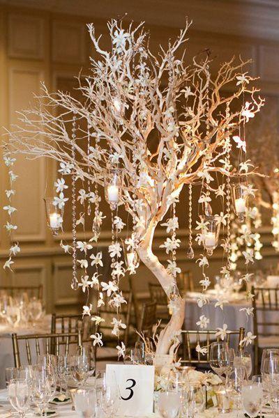 Zimowe dekoracje weselne - zdjęcie 36