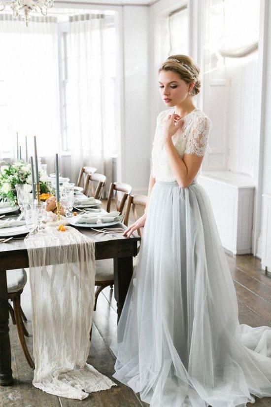 Zimowe dekoracje weselne - Panna Młoda - zdjęcie 41