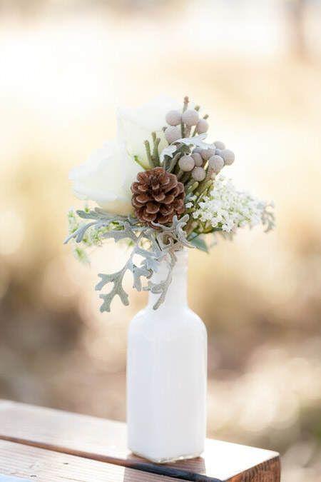 Zimowe dekoracje weselne - zdjęcie 43