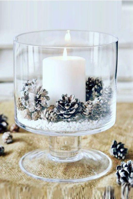 Zimowe dekoracje weselne - zdjęcie 6
