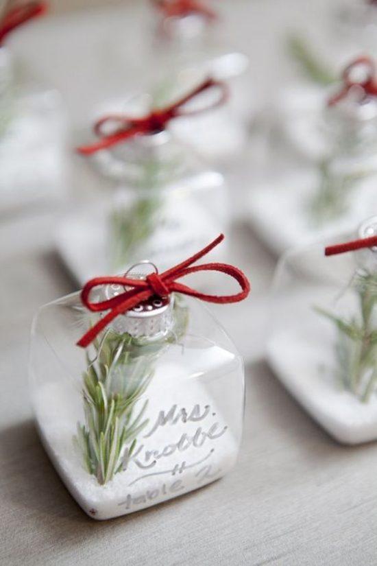 Zimowe dekoracje weselne - zdjęcie 8
