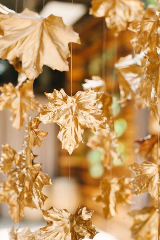 Złoty jako motyw przewodni wesela - zdjęcie 14