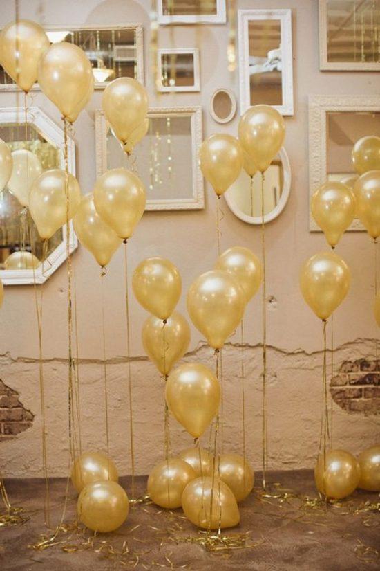 Złoty jako motyw przewodni wesela - zdjęcie 15