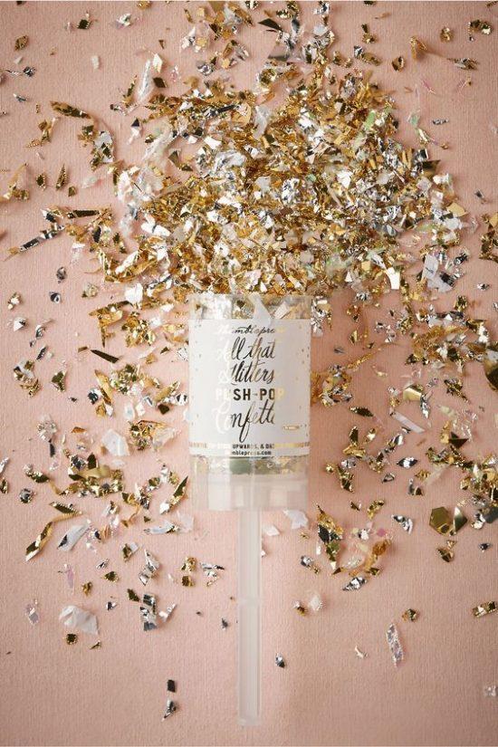 Złoty jako motyw przewodni wesela - zdjęcie 16
