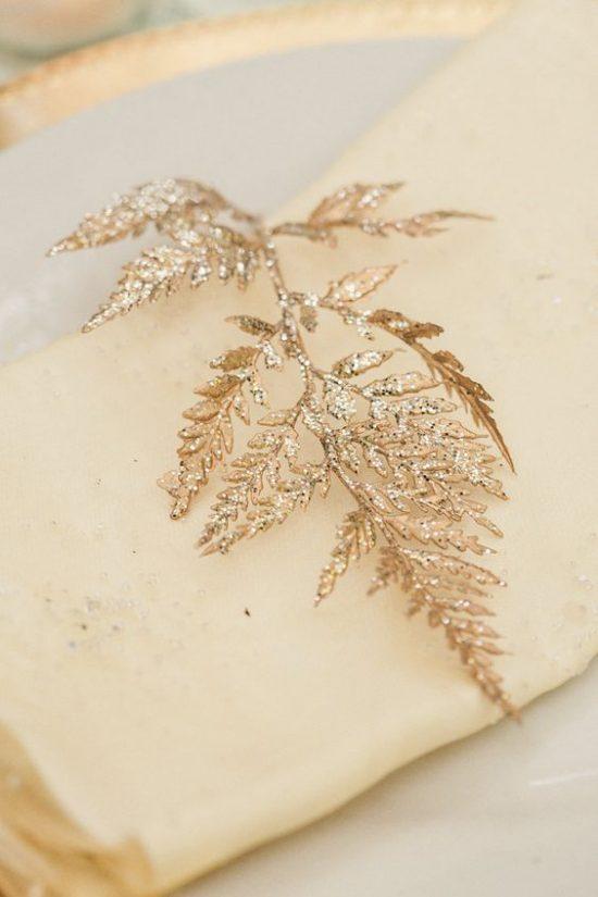 Złoty jako motyw przewodni wesela - zdjęcie 17
