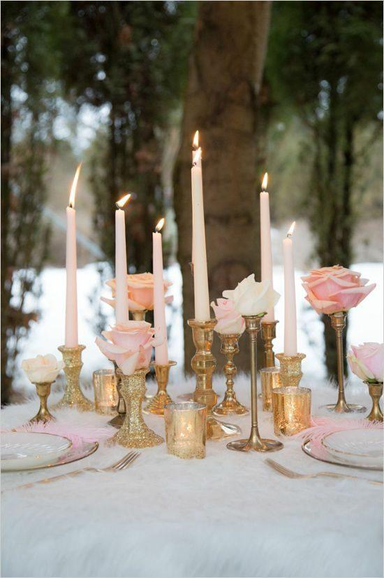 Złoty jako motyw przewodni wesela - zdjęcie 19