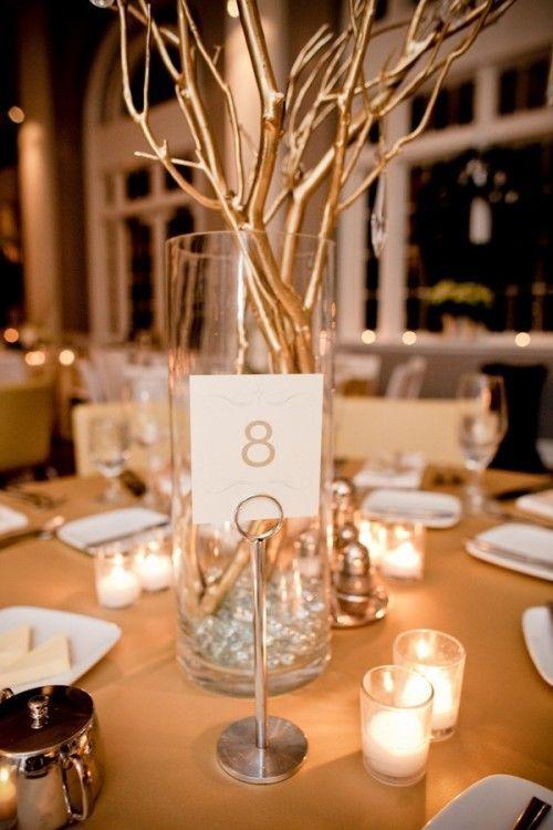 Złoty jako motyw przewodni wesela - zdjęcie 2