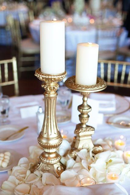 Złoty jako motyw przewodni wesela - zdjęcie 20