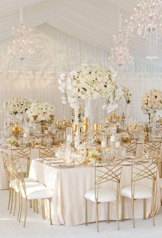 Złoty jako motyw przewodni wesela - zdjęcie 22