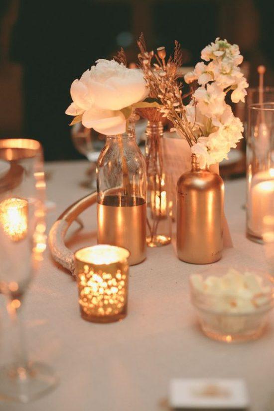 Złoty jako motyw przewodni wesela - zdjęcie 4
