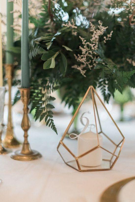 Złoty jako motyw przewodni wesela - zdjęcie 5