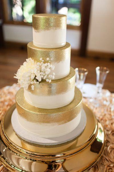 Złoty jako motyw przewodni wesela - zdjęcie 8