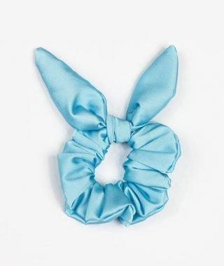 Niebieska gumka do włosów